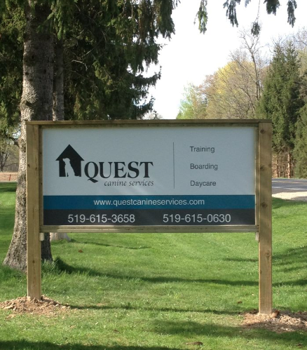 Quest Canine Services 519-615-0630